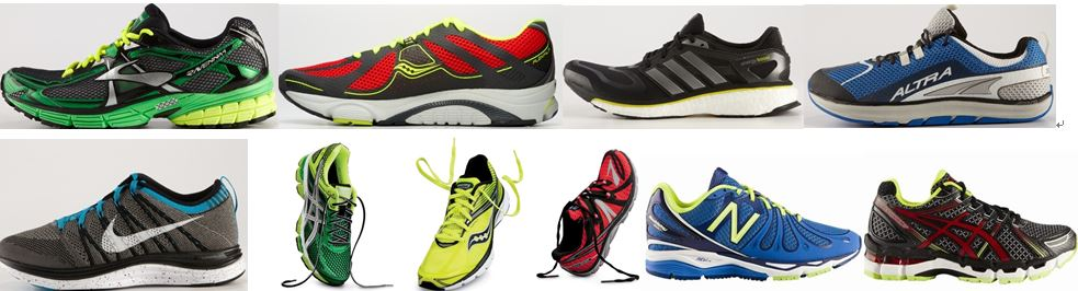 running shoe image