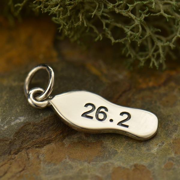 26.2 Running Shoe Charm
