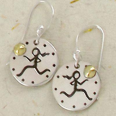 Runner Girl Earrings