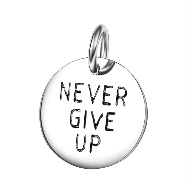 Never GiveUp Charm