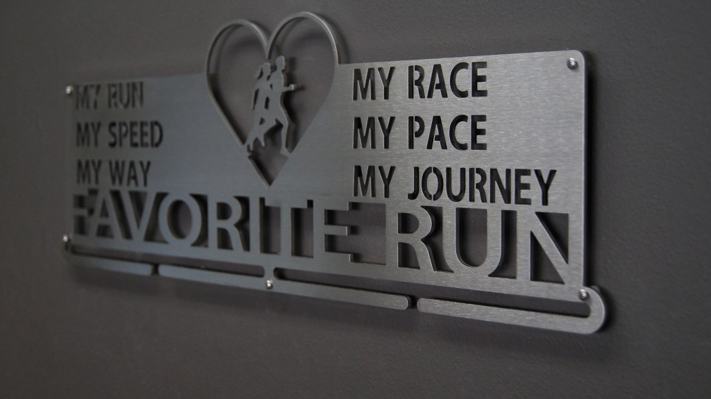 Favorite Run Medal Hanger