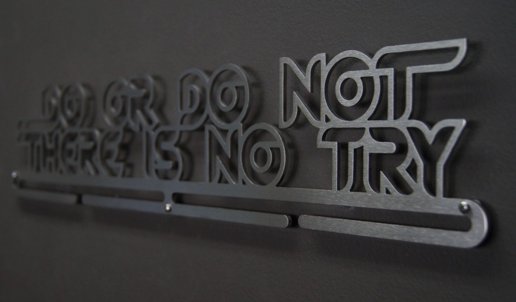 Medal Hanger Do or Do Not There Is No Try2