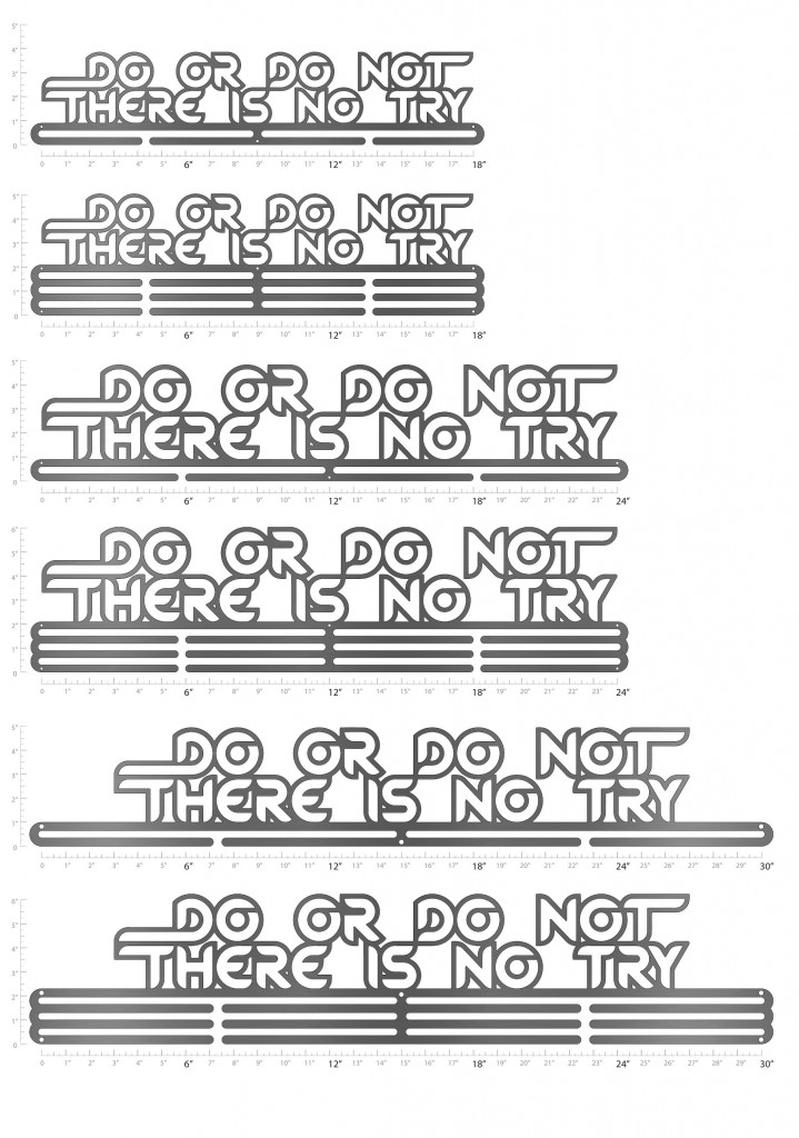 Medal Hanger Do or Do Not There Is No Try3