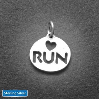 Love 2 Run Charm