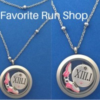 Locket Necklace My Race My Pace