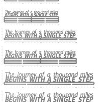 start with single step