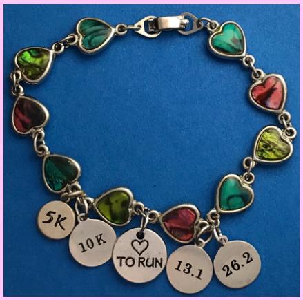running distance bracelet