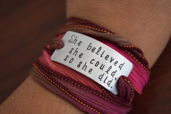 HandStamped Bracelet