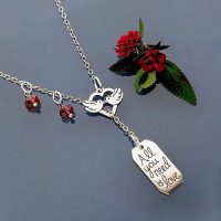 love running necklace
