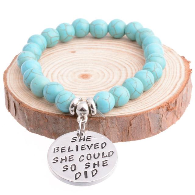 she believed bracelet